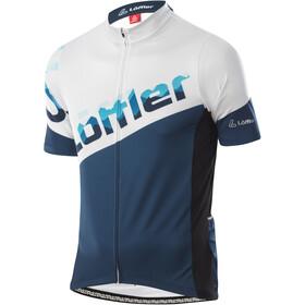 Löffler Messenger Full-Zip Bike Jersey Men, deep water